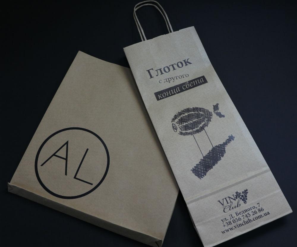 Печать логотипа на пакеты в калуге